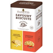 G Wilds Tin Oaty Biscuit For Cheese 260g (X1502)