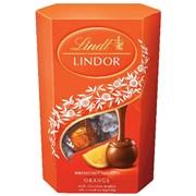 Lindt Lindor Milk Orange Cornet 200g (X1522)