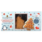 G Wilds Gingerbread Tree Decorating Set (X1903)