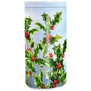 Bramble Embossed Holly Tin Oaty Crumbles 150g (X2252)