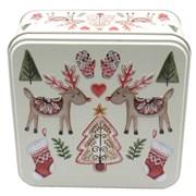 G Wilds Embossed Festive Reindeer Tin 160g (X2275)