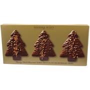 Bramble G Wilds Dark Choc Shortbread Trees (X2277)