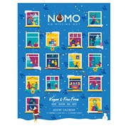 Kinnerton Nomo Vegan/free From Advent 93g (X2528)