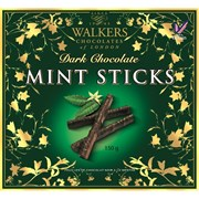 Walkers Dark Choc Mint Sticks 150g (X354)