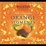 Walkers Chocolate Orange Segments 150g (X356)