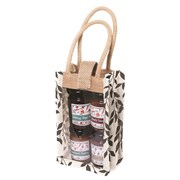 Bramble Jute Bag & Four Small Chutneys (X518)