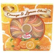 Rose Orange & Lemon Slices 90g (X602)