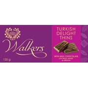 Walkers After Dinner Turkish Delight Thins 135g (x878)
