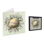 Tom Smith Handmade Xmas Wreath Cards 5s (XAJTC1301)