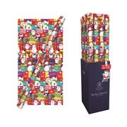 Tom Smith Santa & Friends Roll Wrap 8mt (XAJTW514)