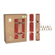 "Giftmaker Crackers Kraft Stars 10x12"" (XAKGS501)"