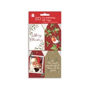 Giftmaker Elegant Traditions Gift Tags 20s (XAKGT1030)