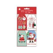 Giftmaker Santa & Friends Gift Tags 20s (XAKGT1035)