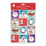 Giftmaker Hand Crafted Novelty Gift Tags 24s (XAKGT201)