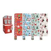 Giftmaker Santa & Friends Roll Wrap 5mt (XAKGW106)