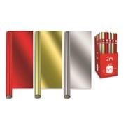 Giftmaker Mixed Plains Foil Roll Wrap 2mt (XAKGW115)