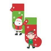 Kids Stockings With Legs 2 Asstd (XAKGZ305)