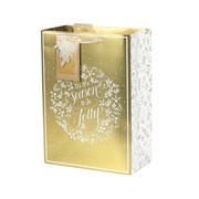Tom Smith Golden Foliage Gift Bag Large (XAKTB503L)