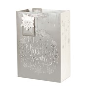 Tom Smith Seasonal Sparkle Gift Bag Large (XAKTB504L)