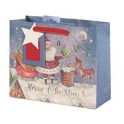 Tom Smith Santas Magic Adventure Gift Bag Medium (XAKTB507M)