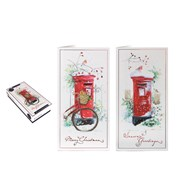 Tom Smith Luxury Slim Postbox Cards 20s (XAKTC501)