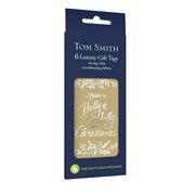 Tom Smith Gift Tags Golden Foliage 6s (XAKTT503)