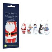 Tom Smith Gift Tags Santa & Friends 6s (XAKTT514)