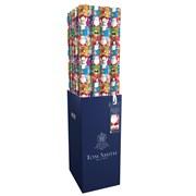 Tom Smith Santa & Friends Extra Wide Roll Wrap 8mt (XAKTW514)