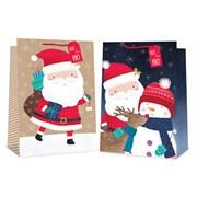 Cute Santa Gift Bag Jumbo (XB0072SJ)
