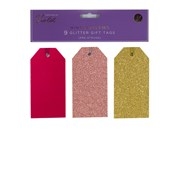 Gift Tags Glitter Winter Berries 9s (XBV-39-9GGT)