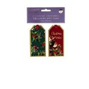 Gift Tags Nostalgic Christmas 10s (XBV-51-10GT)