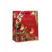Gift Bag Red Robin Large (XBV-52-L)
