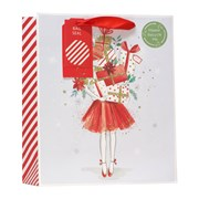Christmas Wrapping Gift Bag Medium (XBV-61-M)