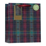 Tartan Gift Bag Medium (XBV-69-M)