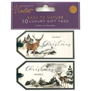 Back To Nature Gift Tags 10s (XBV-75-10GT)