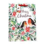 Christmas Robin Gift Bag X/lge (XBV-80-XL)