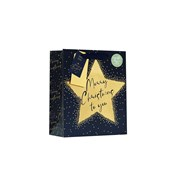 Christmas Star Gift Bag Medium (XBV-81-M)