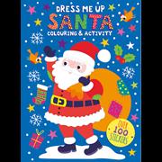 Xmas Dress Me Up Sticker Books 2 Asstd (XDMU01-02)