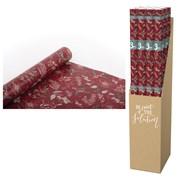 Eco Nature Kraft Red Foliage Roll Wrap 3mt (XECO123A)