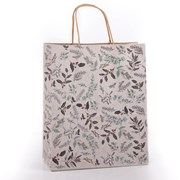 Eco Nature Eco Nat W/foliage Gift Bag Medium (XECOB03S)