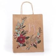 Eco Nature Eco Nat Joywreath Gift Bag Medium (XECOB05S)