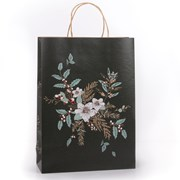 Eco Nature Eco Nat Floral Bouquet Gift Bag Large (XECOB103)