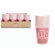 Elf Paper Cups 10s 12oz (XELF0130)