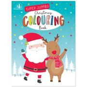 Super Jumbo Christmas Colouring Book (XK0046)