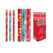Christmas Roll Wrap 20mt (XM2715)