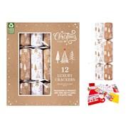 """Rsw 12 Luxury Eco Tree Crackers 14"""" (XM6190)"""