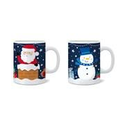 Rsw Santa & Friends Mug Asstd (XM6286)