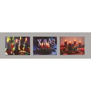 Xmas Candle Canvas 40x30c (LB141286)