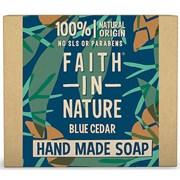 Xystos Faith In Nature Soap Blue Cedar 100g (110301)