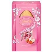 Lindt Lindor Strawberry & Cream Egg 260g (Y441)